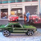 68 COPO CAMARO HOT WHEELS 1/64 - CHEVROLET CAMARO COPO 1968 - car-collector.net