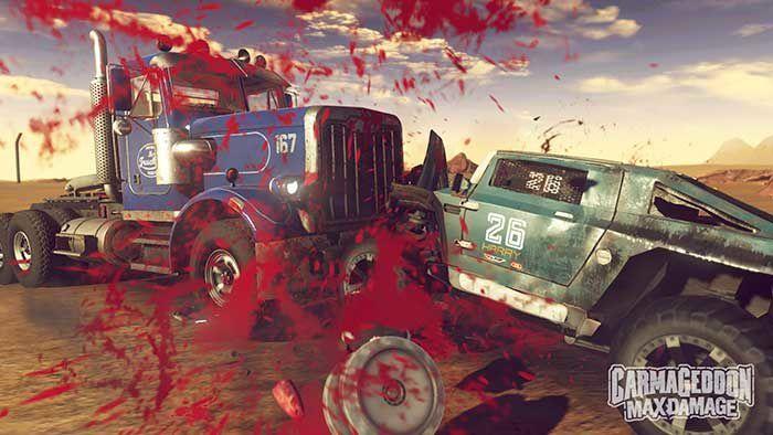 Carmageddon : Max Damage arrive sur #PS4 #XboxOne !