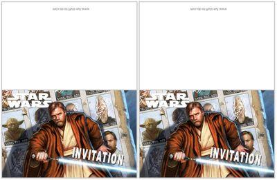 Kit thème STARS WARS pour une fête ou un anniversaire , à imprimer gratuitement  !
