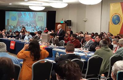 L'unité de la gauche résonne dans le forum international du PT Mexique