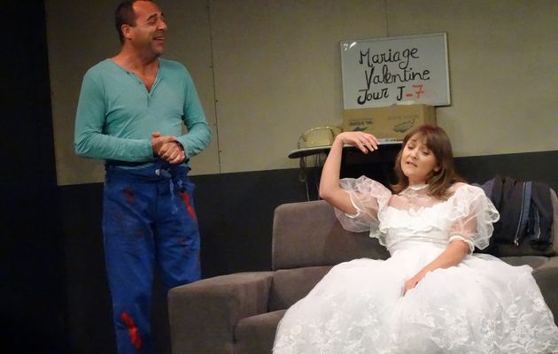 """JUST PAS MARRIED"" ...UNE COMEDIE CHAMBOULANTE...Acte n° 1"