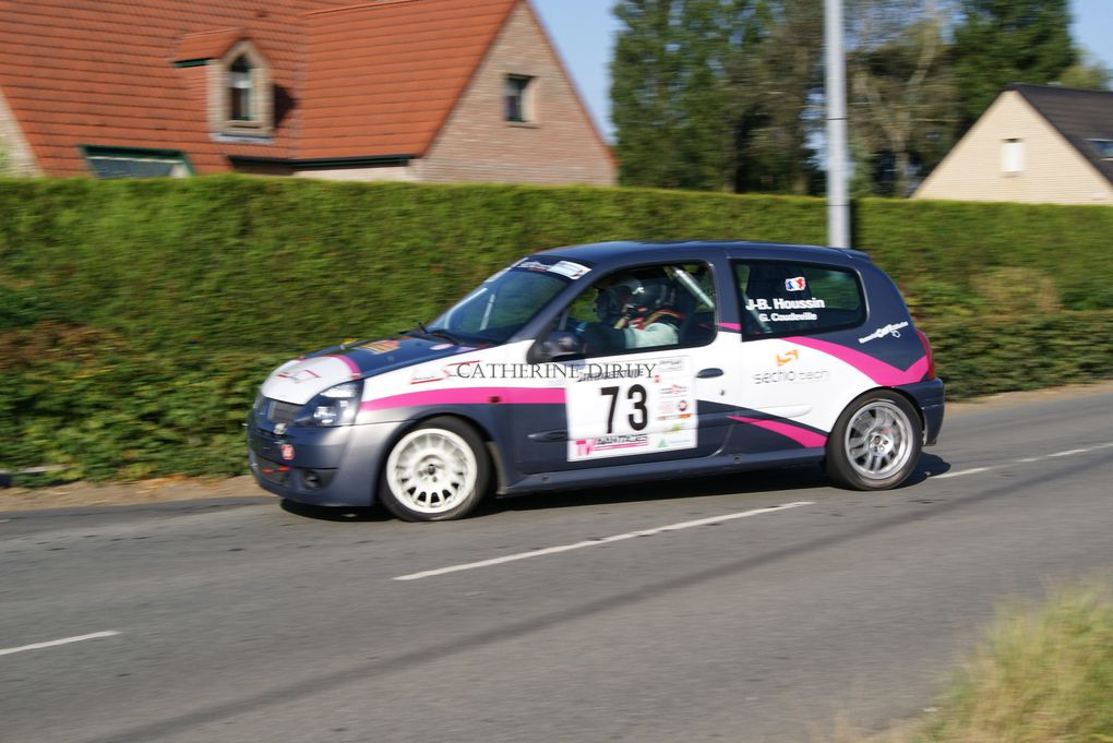 le samedi 15 septembre 2012 RALLYE de Béthunois  sur ES 3  et sur ES 6