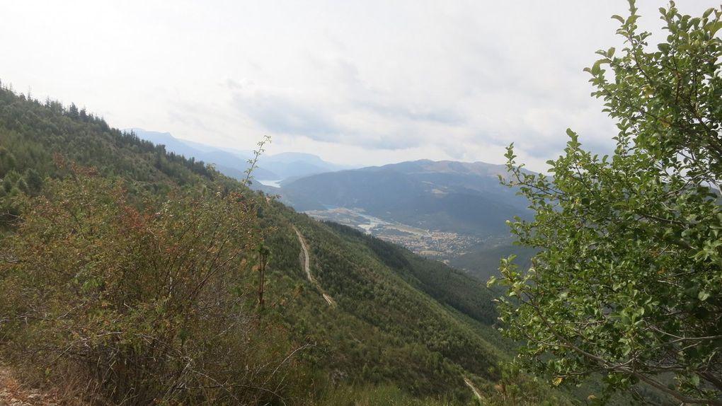 9 septembre étape 14 de Thorame Basse à Soleihas 55 km