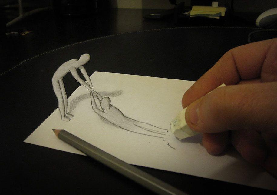 Extrait de de dessins 3D