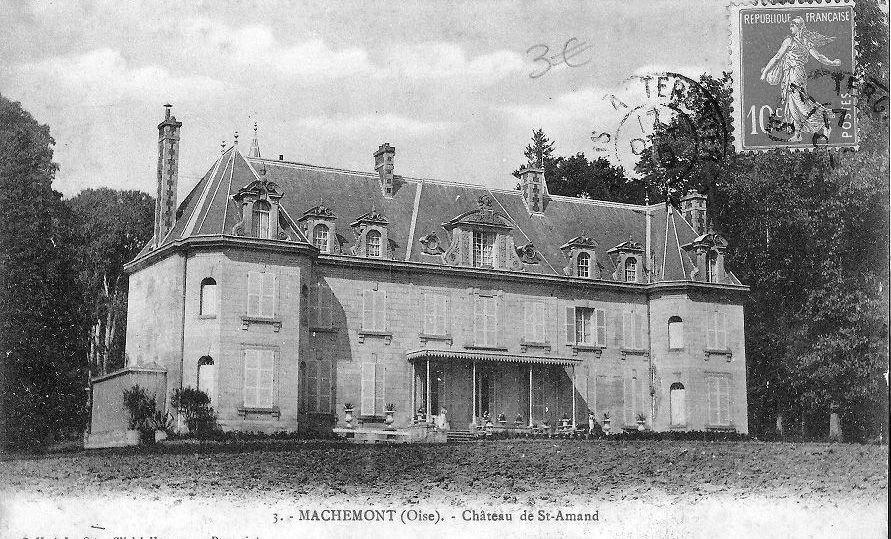 Album - le village de Machemont ( Oise ), les chateaux et villa