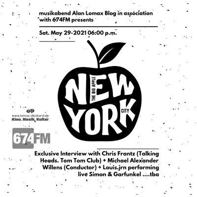 MUSIKABEND feat. Alan Lomax Blog im Radio am 29.05.2021 – The Long New York Night