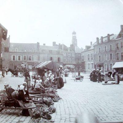 Quand il y avait un marché au marché au Blé