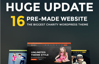 Charity WordPress Theme!