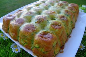 GATEAU INVISIBLE COURGETTE CURRY (thermomix)
