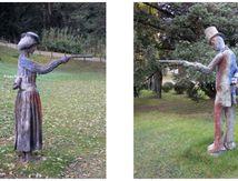 Duel au pistolet au Jardin des Plantes à Paris