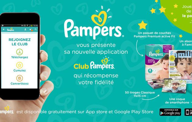Hors Série : Club Pampers - l'appli tant attendue !
