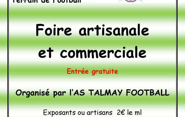 Foire artisanale de Talmay