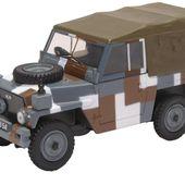 Oxford Diecast Land Rover Lightweight Canvas Berlin Scheme