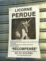 A la recherche de la licorne perdue à Paris