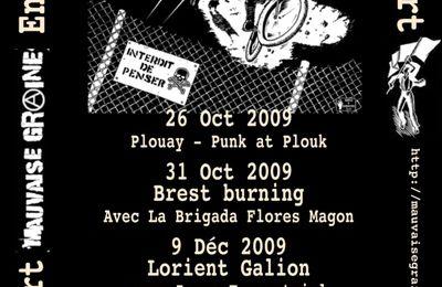 Prochaines dates de Mauvaise graine (anarko punk lorient)