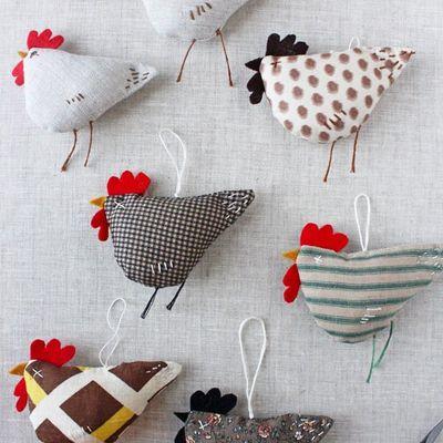 Faire des poulettes très faciles: tutoriel en images