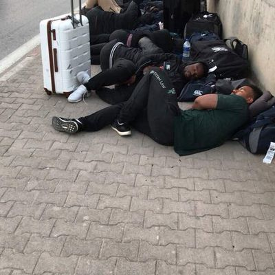 Zimbabwe National Rugby Players Slept on the Street pavements in Tunisia prior to Saturday's match hosts in Beja.