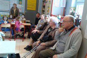 Projet Marpa : visite à l'école de Nielles le Bléquin