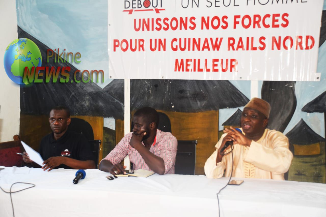 GUINAW RAILS DEBOUT.... UNITED AS ONE  !!!