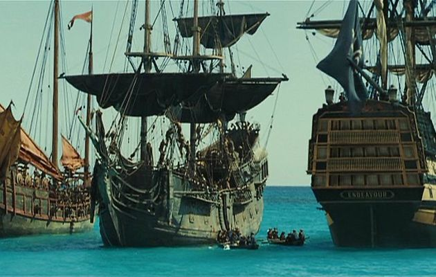 Hms Endeavour Pirates Of The Caribbeanl