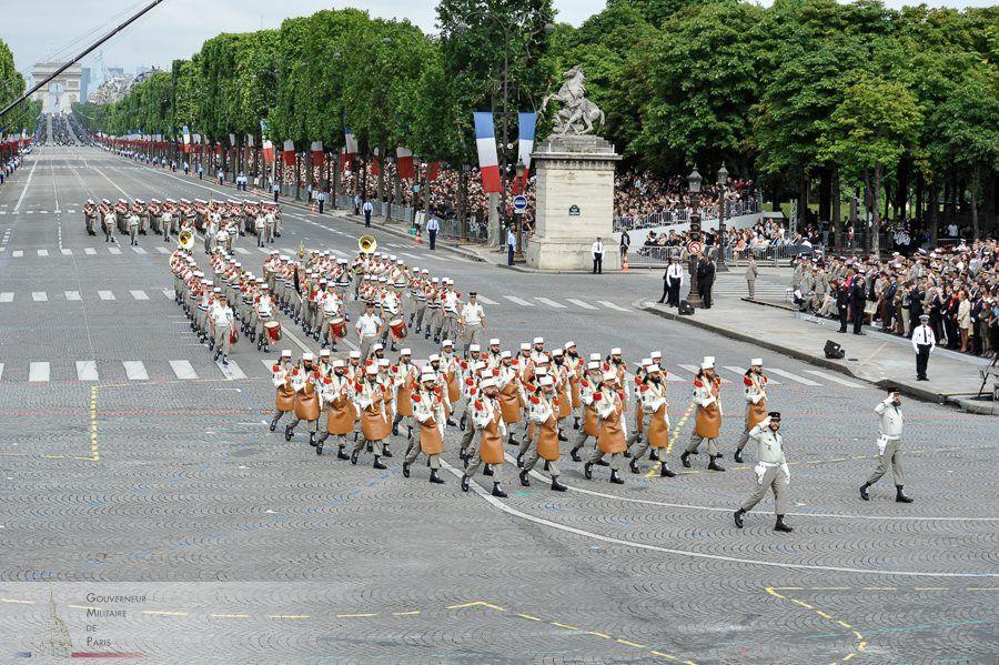 Le défilé du centenaire.