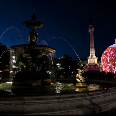 illuminations de Noël au Portugal