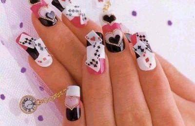nail-art trouvée sur internet