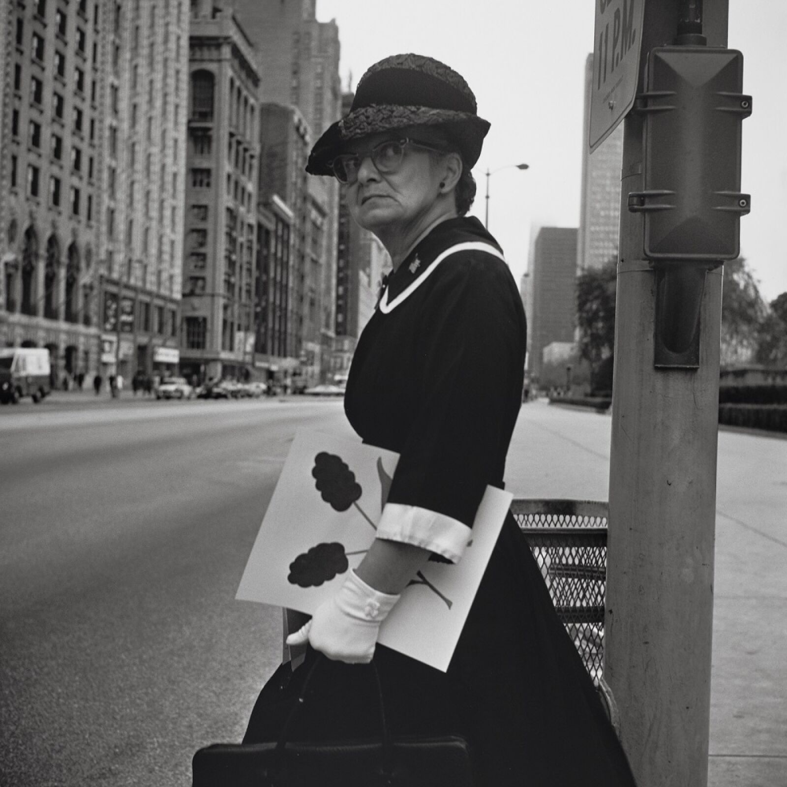 """""""Chicago, sans date"""" de Vivian MAIER © Estate of Vivian Maier, Courtesy of Maloof Collection and Howard Greenberg Gallery, NY"""
