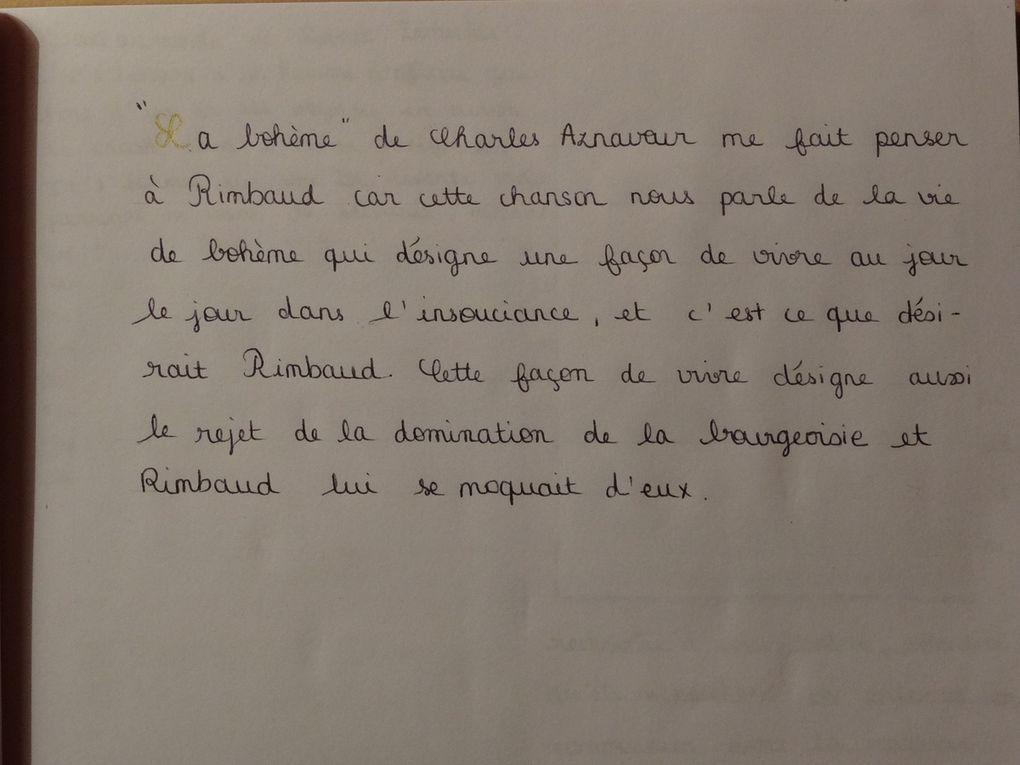 Anthologie de Rachel - 1ES1