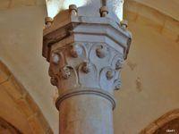 Réfectoire du monastère d'Alcobaça (Portugal)