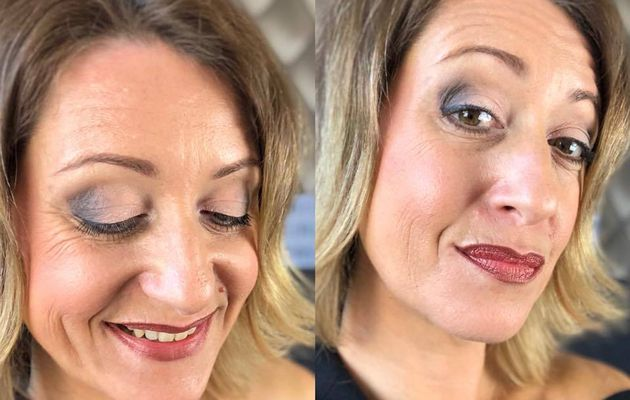 Transformation makeup de jour en makeup du soir ultra simple