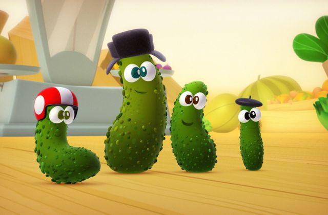 Saison inédite de la série animée A table les enfants, dès le 7 octobre.
