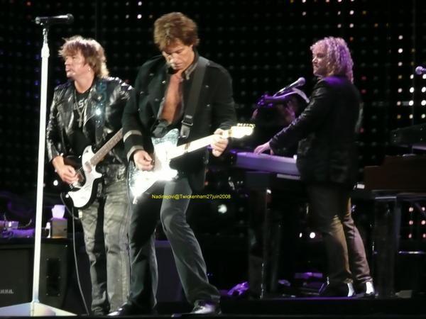 Concert de Twickenham 27 juin 2008 Lost Highway world tour 2007-2008