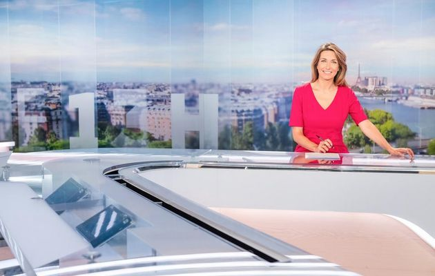 Audiences : Anne-Claire Coudray en forme, 50mn Inside leader