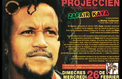 """26/02/14 - Projection """"Zafair Kaya"""" - Marseille"""