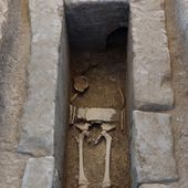 Boy's remains found in Etruscan outpost in Campania