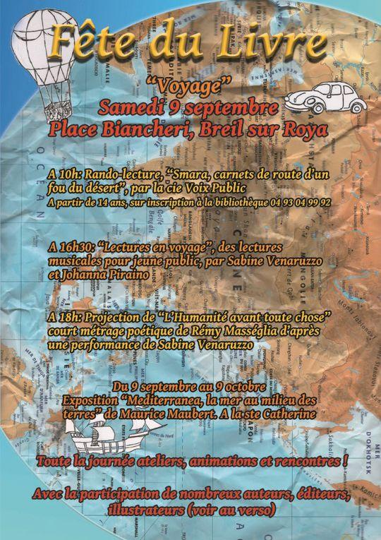 Fête du Livre 2017 à Breil sur Roya