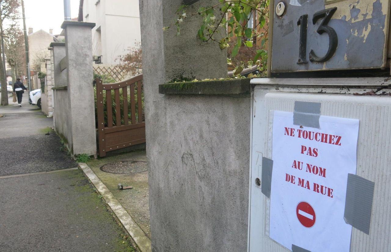 Polémique autour du changement du nom de rue Maxime Gorki en rue Jacques Chirac à Aulnay-sous-Bois