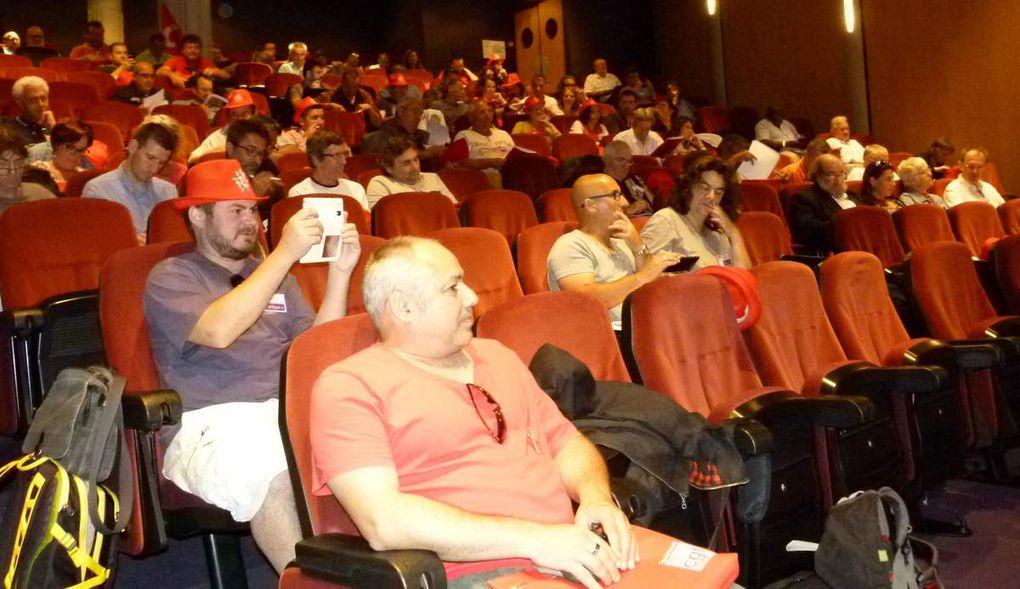 Une centaine de participants à la 14 ème conférence régionale des 25 et 26 juin 2015 au PCC du Mans.