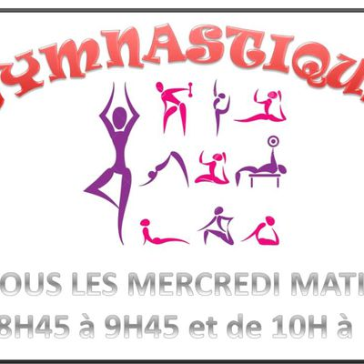 Gymnastique Pétanque Aquagym Art floral