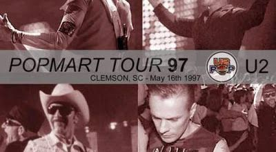 U2 -PopMart Tour -16/05/1997 -Clemson -USA -Death Valley Stadium