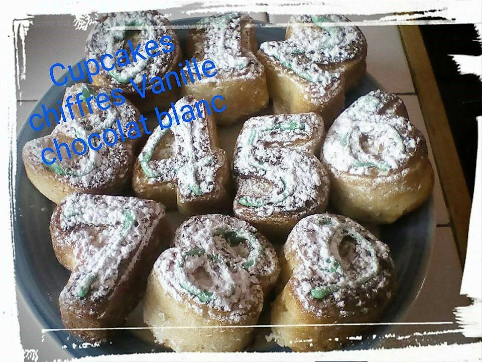 Mes Cupcakes chiffres