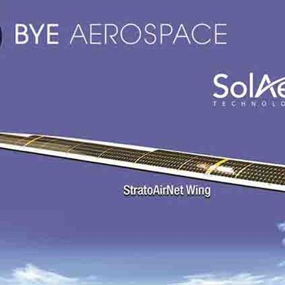 "SolAero: Delivery of the first solar wing for Bye Aerospace's ""StratoAirNet"""
