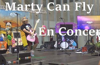 Marty Can Fly - Concert complet au Summer Geek Festival 2019