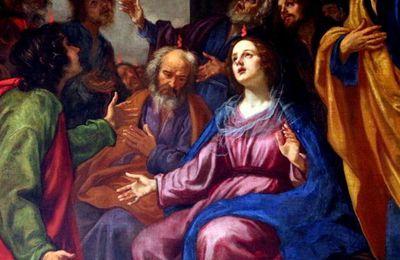 homélie fête de la Pentecôte. dom Jean Pateau Père abbé de Fontgombault