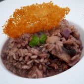 Risotto au Vin rouge - Graine d'Epices
