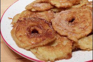 Apfelkiechle - Beignets/Crêpes aux pommes alsaciens