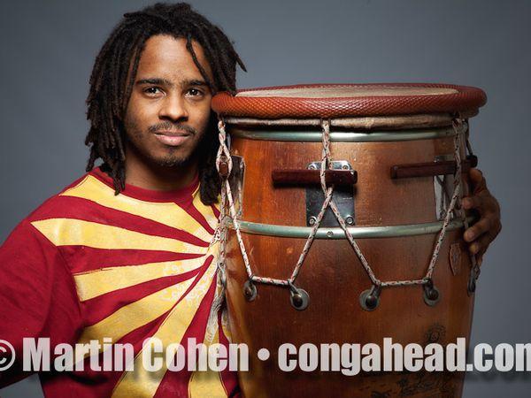 arnaud dolmen, un jeune batteur guadeloupéen qui se découvre une passion pour l'instrument le ka