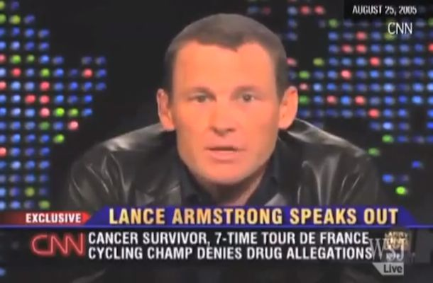 Armstrong Admits to Doping