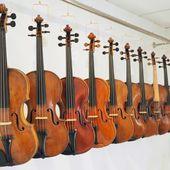 Victor Poiret Sgarbi - Luthier * L'atelier